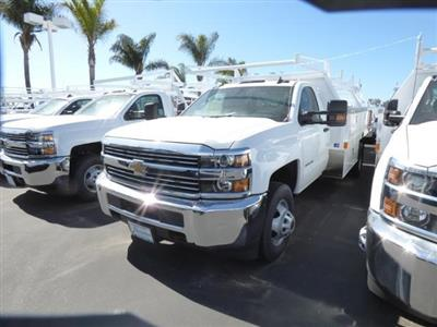 2017 Silverado 3500 Regular Cab DRW 4x2,  Harbor Standard Contractor Body #T17788 - photo 2