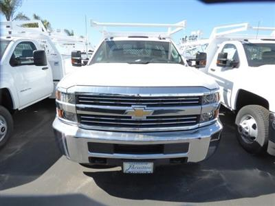 2017 Silverado 3500 Regular Cab DRW 4x2,  Harbor Standard Contractor Body #T17788 - photo 3