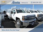 2017 Silverado 3500 Regular Cab DRW 4x2,  Harbor Standard Contractor Body #T17788 - photo 1