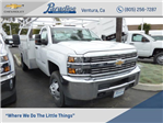 2017 Silverado 3500 Regular Cab DRW 4x2,  Harbor TradeMaster Service Body #T17858 - photo 1