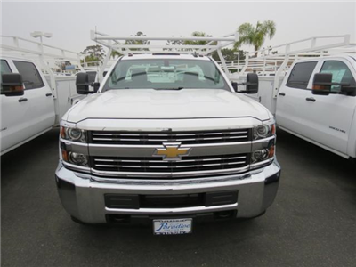 2017 Silverado 3500 Regular Cab DRW 4x2,  Harbor TradeMaster Service Body #T17921 - photo 3