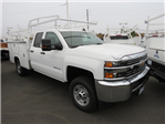 2017 Silverado 2500 Double Cab 4x4, Harbor Service Body #T17925 - photo 1