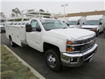 2017 Silverado 3500 Regular Cab, Harbor Service Body #T17945 - photo 1