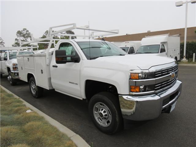 2017 Silverado 2500 Regular Cab, Harbor TradeMaster Service Body #T17957 - photo 1
