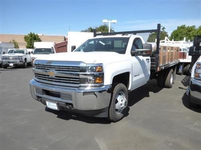 2017 Silverado 3500 Regular Cab DRW 4x2,  Stake Bed #T17978 - photo 3