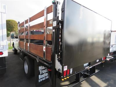 2018 Silverado 3500 Crew Cab DRW 4x2,  Martin's Quality Truck Body Stake Bed #T181146 - photo 2