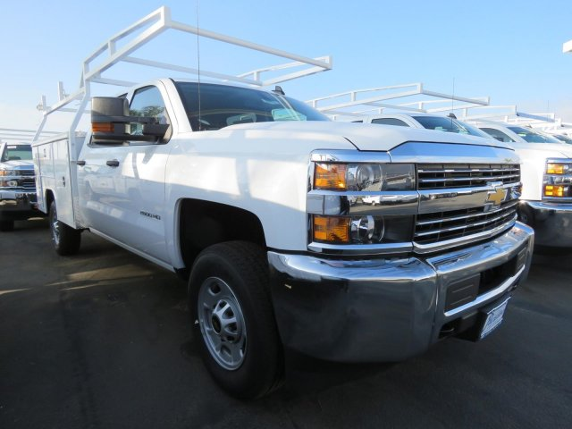 2018 Silverado 2500 Crew Cab 4x2,  Harbor TradeMaster Service Body #T181333 - photo 1