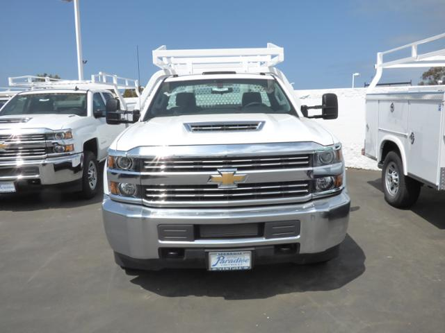 2018 Silverado 3500 Regular Cab DRW 4x2,  Royal Contractor Body #T18467 - photo 3