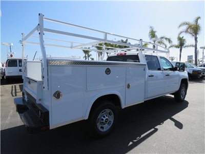 2018 Silverado 2500 Crew Cab 4x2,  Royal Service Body #T18782 - photo 2