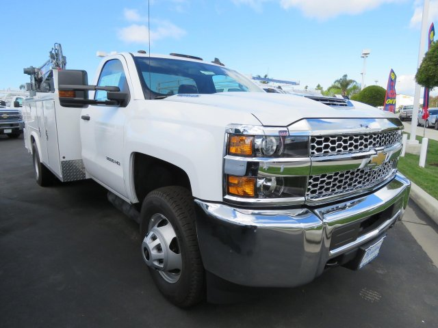 2019 Silverado 3500 Regular Cab DRW 4x2,  Royal Mechanics Body #T19642 - photo 1
