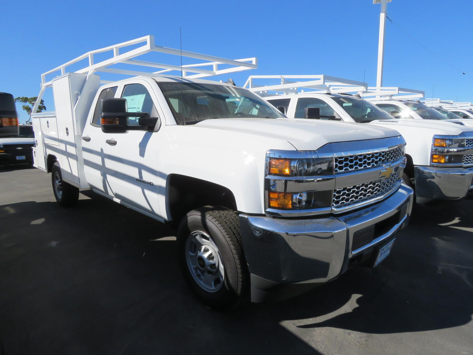 2019 Silverado 2500 Double Cab 4x2, Welder Body #T19739 - photo 1