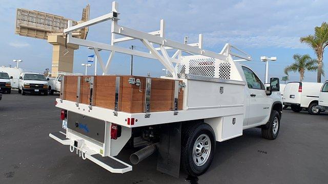2020 Chevrolet Silverado 3500 Regular Cab 4x4, Harbor Contractor Body #T201558 - photo 1