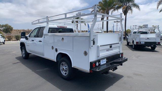 2021 Chevrolet Silverado 2500 Double Cab 4x2, Royal Truck Body Service Body #T211074 - photo 1