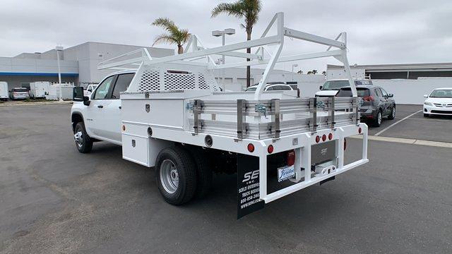 2021 Chevrolet Silverado 3500 Crew Cab 4x2, Scelzi Contractor Body #T211118 - photo 1