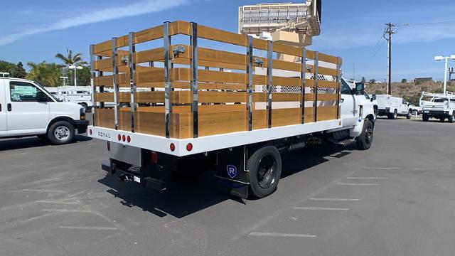 2021 Chevrolet Silverado 4500 Regular Cab DRW 4x2, Royal Truck Body Stake Bed #T21729 - photo 1