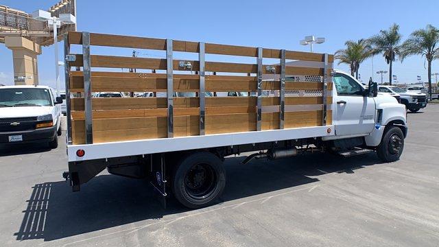 2021 Chevrolet Silverado 4500 Regular Cab DRW 4x2, Royal Truck Body Stake Bed #T21730 - photo 1
