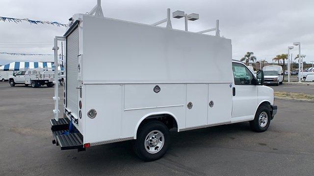 2021 Chevrolet Express 3500 4x2, Royal Truck Body Service Utility Van #T21901 - photo 1