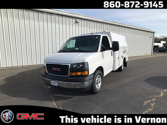 2019 Savana 3500 4x2, Reading Service Utility Van #K9565 - photo 1