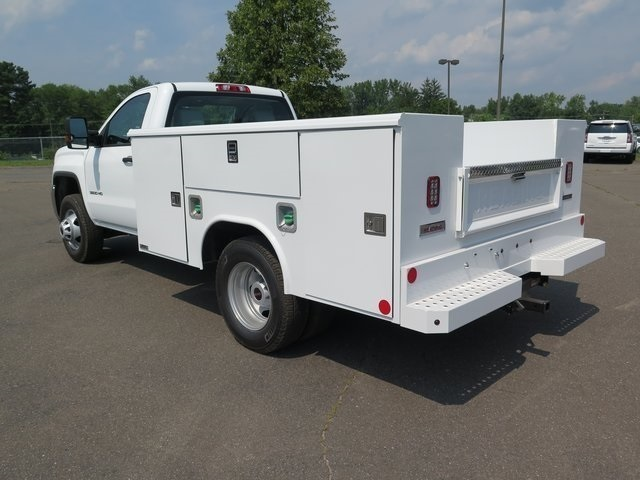 2019 Sierra 3500 Regular Cab DRW 4x4,  Reading Classic II Steel Service Body #K9912 - photo 6