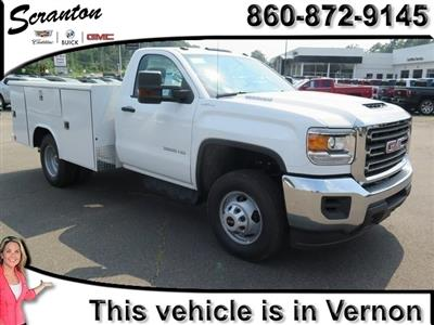 2019 Sierra 3500 Regular Cab DRW 4x4,  Reading Classic II Steel Service Body #K9912 - photo 1