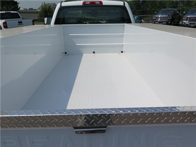 2019 Sierra 3500 Regular Cab DRW 4x4,  Reading Classic II Steel Service Body #K9912 - photo 5