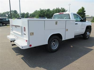 2019 Sierra 3500 Regular Cab DRW 4x4,  Reading Classic II Steel Service Body #K9912 - photo 7