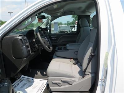 2019 Sierra 3500 Regular Cab DRW 4x4,  Reading Classic II Steel Service Body #K9912 - photo 8