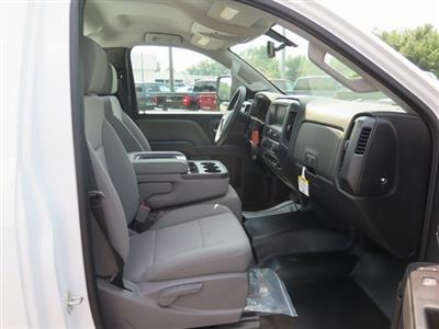 2019 Sierra 3500 Regular Cab DRW 4x4,  Reading Classic II Steel Service Body #K9912 - photo 9