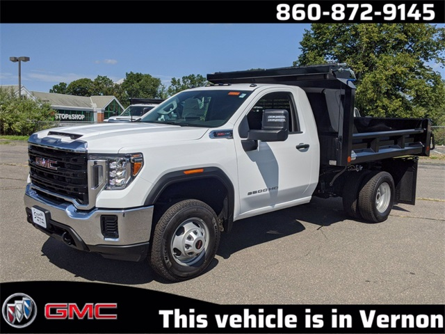 2020 GMC Sierra 3500 Regular Cab 4x4, Dump Body #L9952 - photo 1