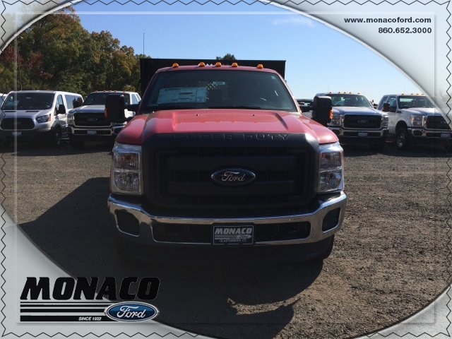 2015 F-350 Super Cab DRW 4x4, Reading Platform Body #153866 - photo 3