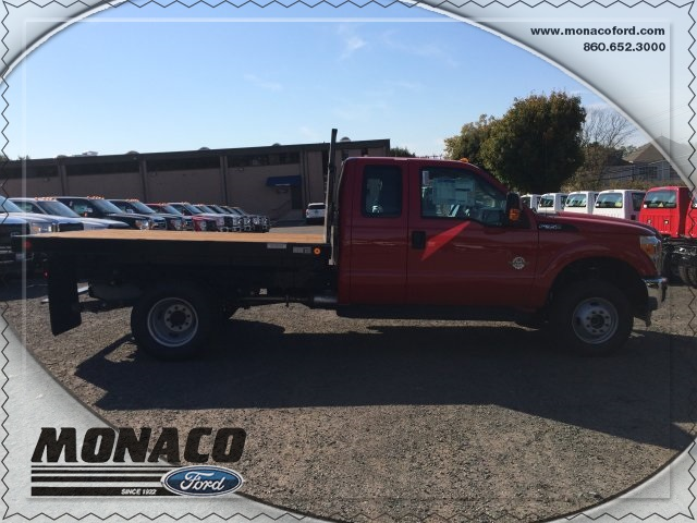 2015 F-350 Super Cab DRW 4x4, Reading Platform Body #153866 - photo 5