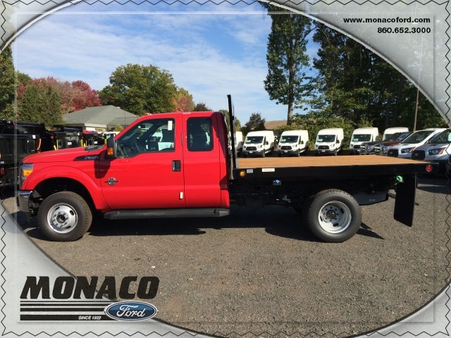 2015 F-350 Super Cab DRW 4x4, Reading Platform Body #153866 - photo 8