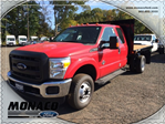 2015 F-350 Super Cab DRW 4x4, Reading Platform Body #153866 - photo 1