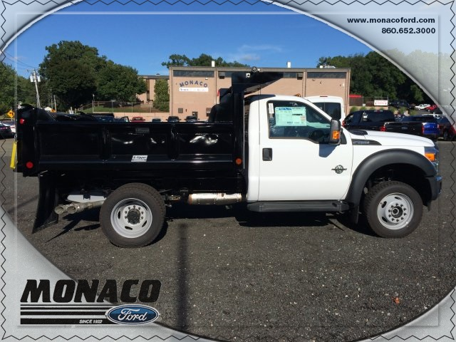 2016 F-550 Regular Cab DRW 4x4, Crysteel Dump Body #163992 - photo 7