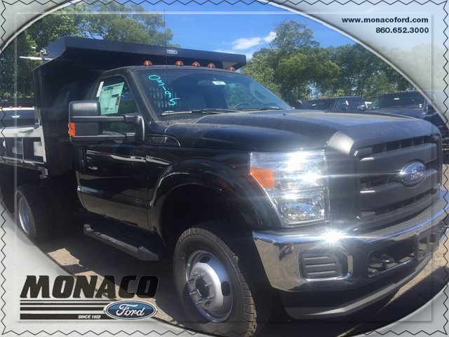 2016 F-350 Regular Cab DRW 4x4, Dump Body #164967 - photo 3