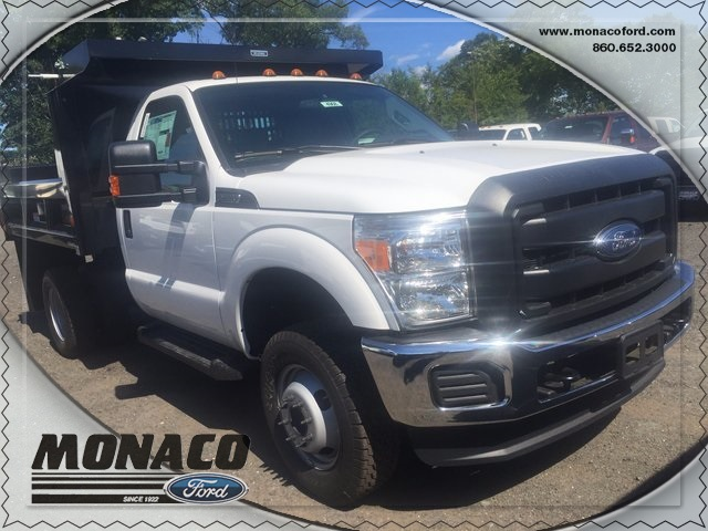 2016 F-350 Regular Cab DRW 4x4, Dump Body #164968 - photo 4