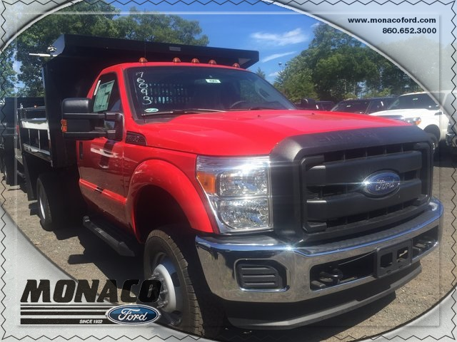 2016 F-350 Regular Cab DRW 4x4, Dump Body #164969 - photo 4