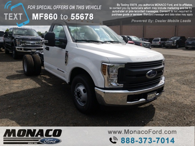 2019 F-350 Regular Cab DRW 4x2,  Cab Chassis #192394 - photo 3