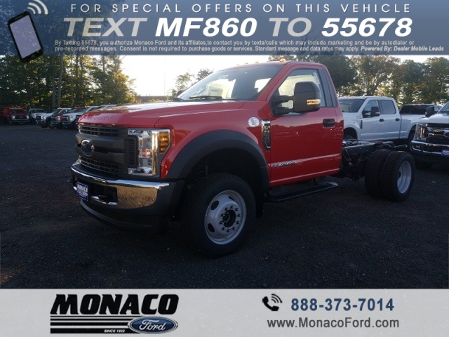 2019 F-550 Regular Cab DRW 4x4,  Cab Chassis #192557 - photo 4