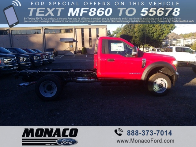 2019 F-550 Regular Cab DRW 4x4,  Cab Chassis #192557 - photo 8