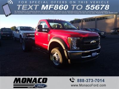 2019 F-550 Regular Cab DRW 4x4,  Cab Chassis #192557 - photo 1