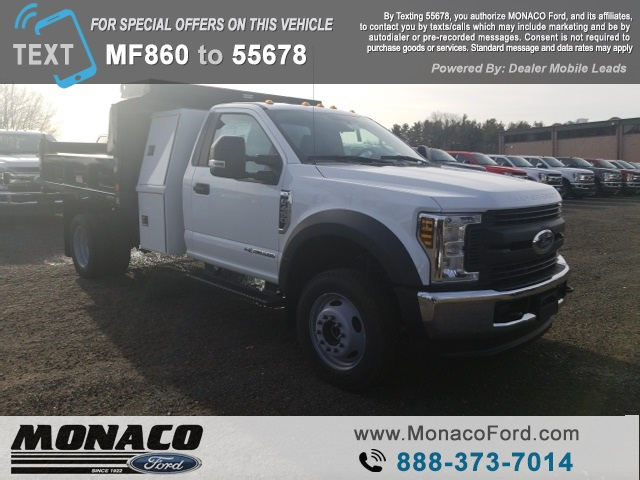 2019 F-450 Regular Cab DRW 4x4,  Reading Dump Body #192685 - photo 3