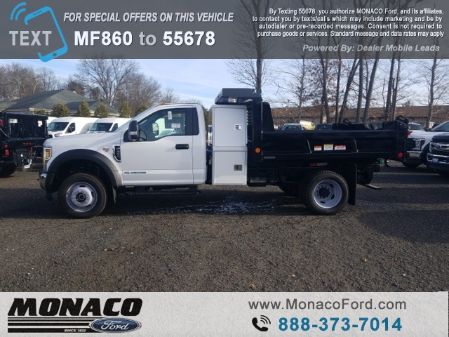 2019 F-450 Regular Cab DRW 4x4,  Reading Dump Body #192685 - photo 5