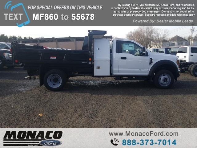 2019 F-450 Regular Cab DRW 4x4,  Reading Dump Body #192685 - photo 8