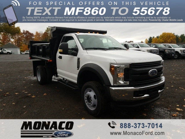 2019 F-550 Regular Cab DRW 4x4,  Air-Flo Dump Body #192691 - photo 3