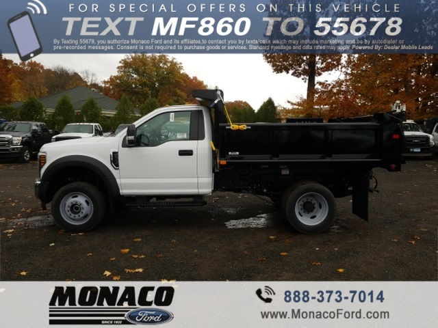 2019 F-550 Regular Cab DRW 4x4,  Air-Flo Dump Body #192691 - photo 2