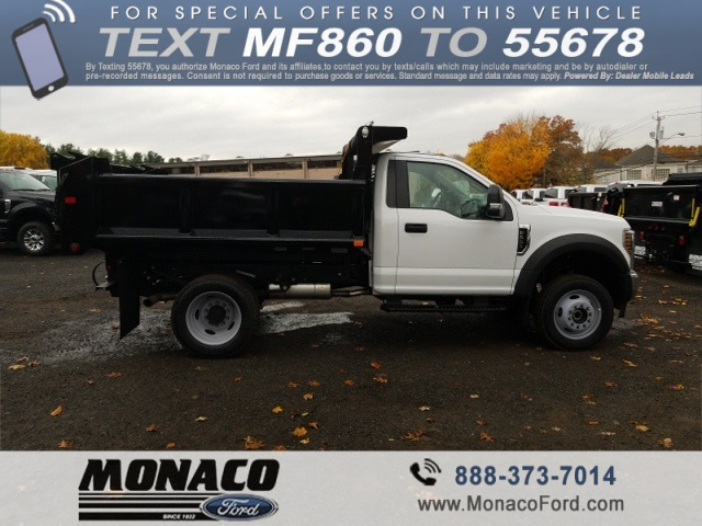 2019 F-550 Regular Cab DRW 4x4,  Air-Flo Dump Body #192691 - photo 5