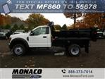 2019 F-550 Regular Cab DRW 4x4,  Air-Flo Dump Body #192691 - photo 1