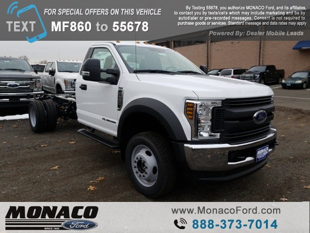 2019 F-550 Regular Cab DRW 4x4,  Cab Chassis #192741 - photo 3