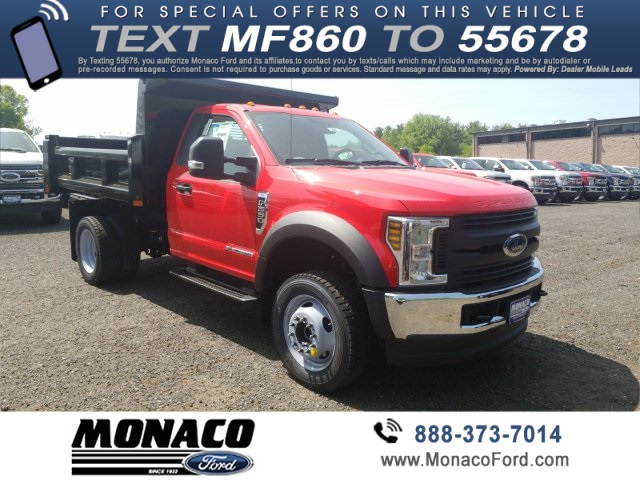 2019 F-550 Regular Cab DRW 4x4,  Cab Chassis #192907 - photo 3